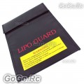Fiber Li-Po Battery Safety Bag Fireproof LiPo Guard Black 23CM x 30CM (LG003-30BK)