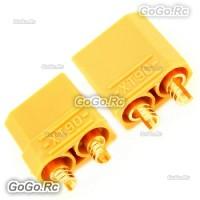 XT90 Bullet Connectors Plugs Male & Female For RC LiPo Battery (XT90YY)