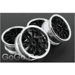 1/10 RC Car Metallic Plate 12 Talons Wheel Rim (6012)