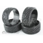 4 Pcs 1/10 RC Car HPI Drift Tyre Hard Rubber Tires 6013