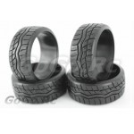 4 Pcs 1/10 RC Car HPI Drift Tyre Hard Rubber Tires 9016