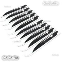 10-Pair 360mm Glass Fiber Main Blade For ALZRC Devil X360 Gaui X3 Trex 450L Heli