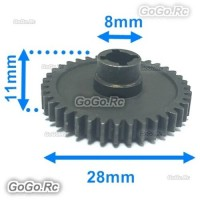 Steel Reduction Gear Parts Wltoys For A949 A959 A969 A979 RC Car - A949-24-V2