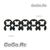 10 Pcs 3mm E Clips For RC Car (AX009)