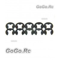 10 Pcs 2mm E Clips For RC Car (AX011)
