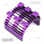 Purple Aluminum Heatsink Top For 540 550 Motor Tamiya HSP Car RC EP (AX016PU)