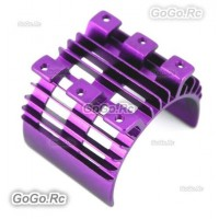 Purple Aluminum Heatsink Top For 540 550 Motor Tamiya HSP Car RC EP (AX016PU)