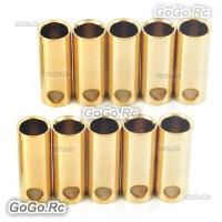 10 Pcs 5.5 mm Female Gold Bullet Connector for Battery Motor Esc
