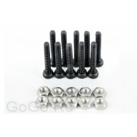 Socket Cap Screws M2 X 12mm & M2 Hex Nuts X10 Pcs (CA010)