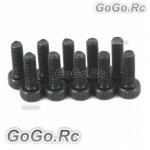 10 x Socket Head Cap Screws M2.5X8mm (CA015)