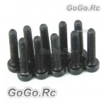 10 x Socket Head Cap Screws M2x10mm (CA017)