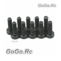 10 x Socket Head Cap Screws M3 x 8mm (CA024)