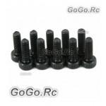 10 x Socket Head Cap Screws M3 x 10mm (CA025)