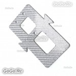 450 Glass Fiber 50mm Battery Mounting Plate For T-Rex 450 SE V2 Helicopter