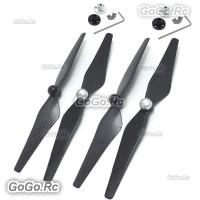4 pcs Carbon Fiber 9450S CW/CCW 9450 Prop Blade Propeller for RC DJI Phantom 4