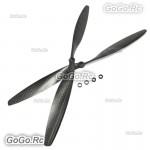 12x4.5 Carbon Fiber Propeller CW CCW 1245 CF Propeller For RC Drone Quadcoter