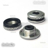 2 Pcs ALZRC Metal Canopy Mounting Grommets Nut For Devil Trex 450 480 Helicopter