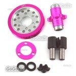 Aluminum Front One Way Tube Differential for 3Racing 1/10 Sakura D3 CS Drift Car