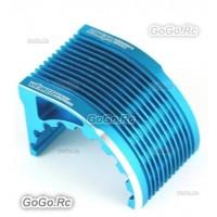 Team Vikings Aluminum CNC Heat Sink Radiator For 42mm Motor Blue - CR023BU