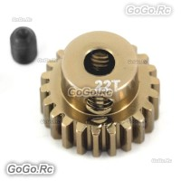 Alloy 7075 Hard Coated Motor Gear 48P 22T for 1/10 RC Car SAKURA D3