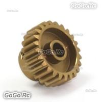 Alloy 7075 Hard Coated Motor Gear 48P 24T for 1/10 RC Car SAKURA D3