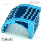 Aluminum CNC Heat Sink Radiator For 42mm Motor Castle 1515 XERUN - Blue
