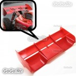 Hi Down Force Rear Spoiler Wing Red For 1 : 8 Buggy RC Off Road Cars