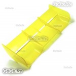 Hi Down Force Rear Spoiler Wing Yellow For 1 : 8 Buggy RC Off Road Cars