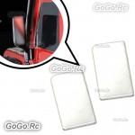 2 Pcs Side View Mirrors Simulation Rear view Mirrors Plate Traxxas TRX-4 RC Car