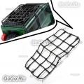 Elastic Luggage Net W/Hook for 1/10 SCX10 D90 TRX4 RC Truck Roof Rack Crawler BK