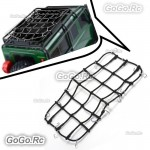 Elastic Luggage Net W/Hook for 1/10 SCX10 D90 TRX4 RC Truck Roof Rack Crawler BK