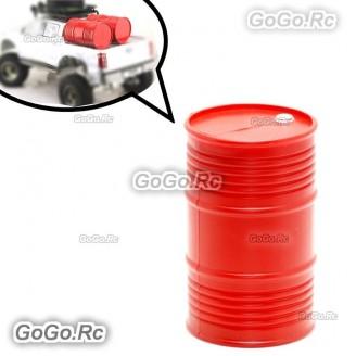 RC Plastic Oil Fuel Drum Accessories for Rock Crawler 1:10 Car SCX10 RC4WD D90