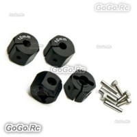 12mm BK Wheel Hex Mounting Adaptor Thickness 10mm SCX10 CC01 WRAITH 90027 90034