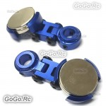 2 Pcs Blue Invisible Body Shell Post Column Mount Strong Magnet For 1/10 RC Car