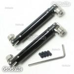 Aluminium Upgrade Universal Driven Dogbone HSP 94180 For RC SCX10 D90 180011 BK