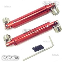 Aluminium Universal Driven Dogbone Red HSP 94180 For RC SCX10 D90 180011