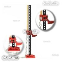 1/10 RC Rock Crawler Slideable Aluminium Jack Tool for Axial Gmade Trx4 CX10