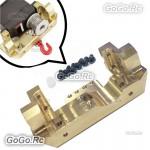 Copper Bracket Steering Mechanism Bumper W/ Winch Drum For Traxxas TRX4 RC Car