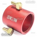 Aluminum Water Cooling Jacket 24mm For Marine 2435 2440 Brushless Motor RC Boat