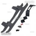 ALZRC - Devil 380 FAST Carbon Fiber Landing Skid Set - Black - D380-U08-B