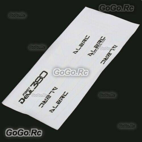 ALZRC - Devil 380 FAST Carbon Fiber Landing Skid Color Sticker White D380-U10-W
