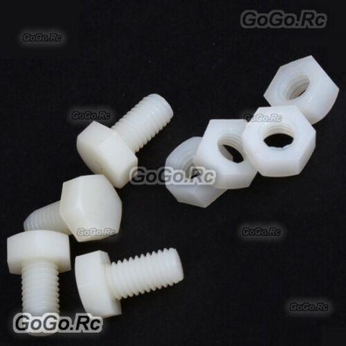 ALZRC - Devil 380 / 420 / 505 FAST Nylon Screw - M8x14mm - D380F34