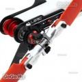 ALZRC Devil 420 FAST Metal Tail Rotor Holder Set Silver - D420F04-S