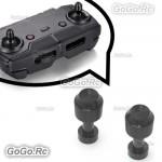 2 Pcs Black Aluminum Transmitter Stick Joystick For DJI Mavic Air Remote Control