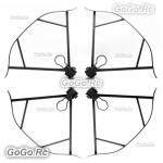 4 Pcs Grey Propeller Guard Bumper Blade Crash Protector For DJI Mavic Pro Drone