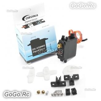 1 Pcs Corona DS238MG Digital Metal Gear Servo 4.6kg 0.14sec 22g