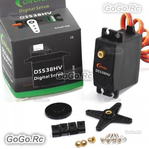 1 Pcs Corona DS538HV Digital Metal Gear Servo 8kg / 0.12sec / 58g For RC Model