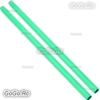 2 Pcs ALZRC 400mm Green Tail Boom Belt Version For Devil X360 Gaui X3 Helicopter