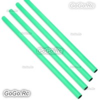 4 Pcs ALZRC 400mm Green Tail Boom Belt Version For Devil X360 Gaui X3 Helicopter