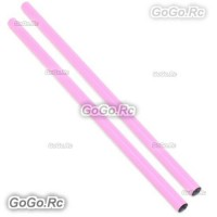 2 Pcs ALZRC 400mm Pink Tail Boom Belt Version For Devil X360 Gaui X3 Helicopter